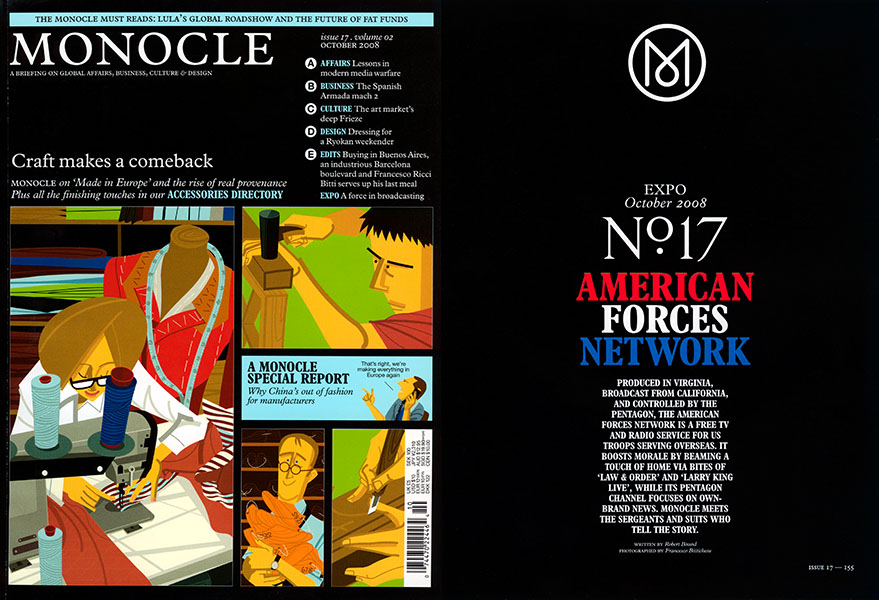 MONOCLE MAGAZINE - FRANCESCO BITTICHESU